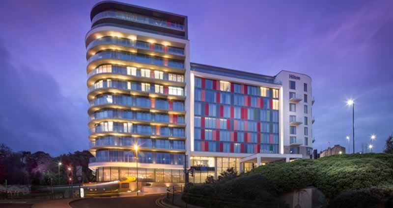 Hampton by Hilton Hotel and Hilton Hotel, Bournemouth