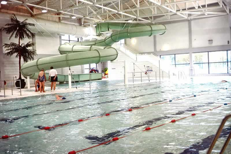 banbridge leisure centre pool with slide