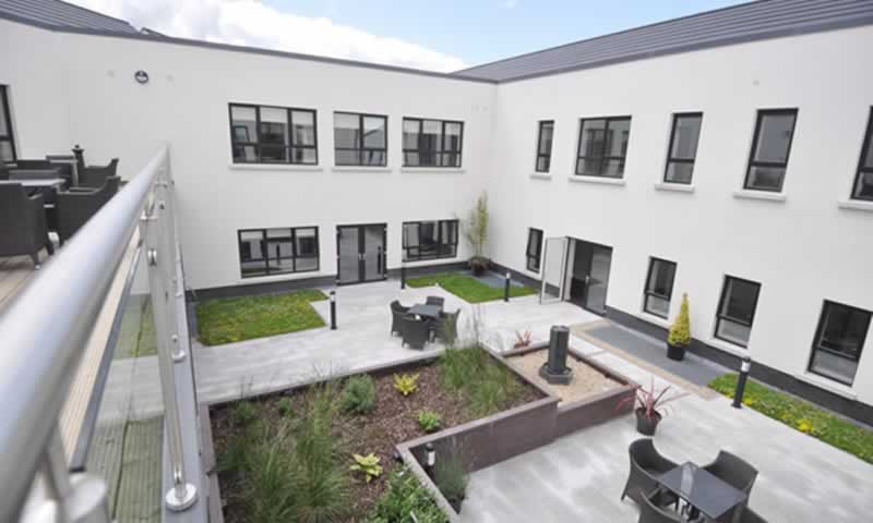 brooklands healthcare antrim courtyard