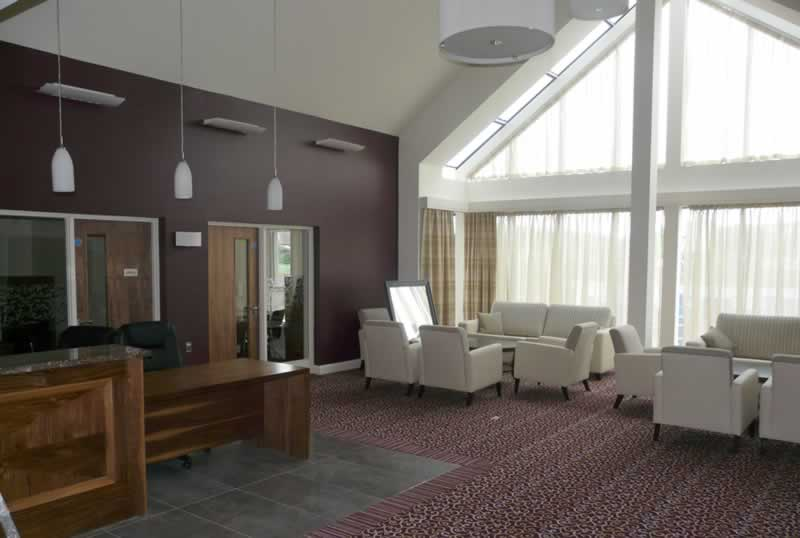 brooklands healthcare antrim reception