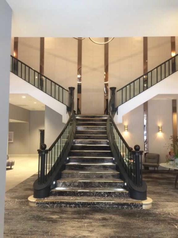 carlton hotel  stairs