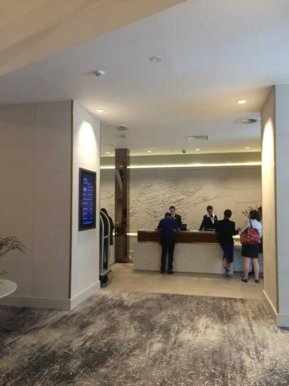 carlton hotel reception