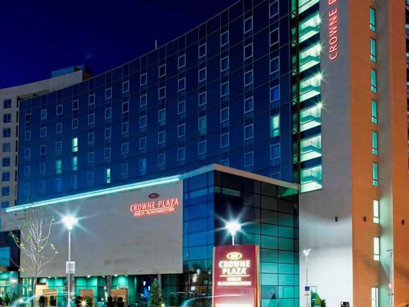 crowne plaza dublin blanchardstown front