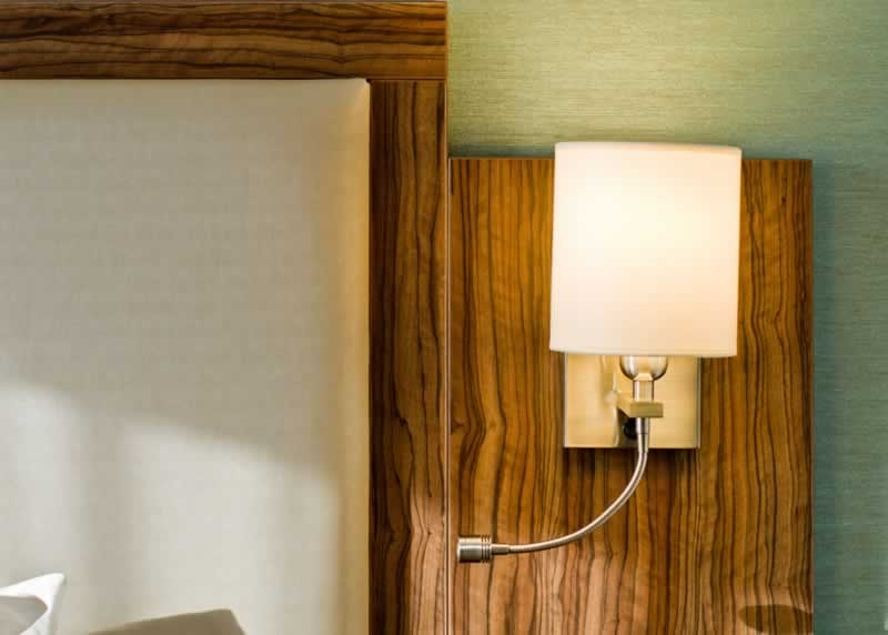 doubletree by hilton islington bedroom lights