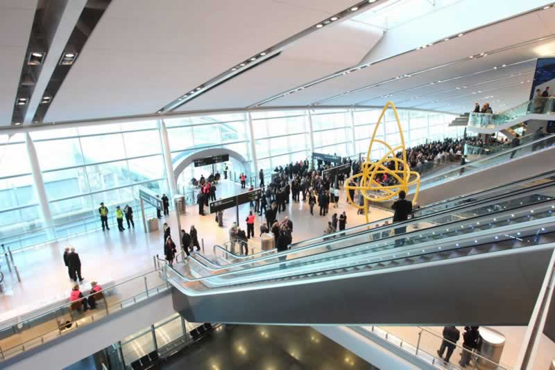 dublin airport main lobby
