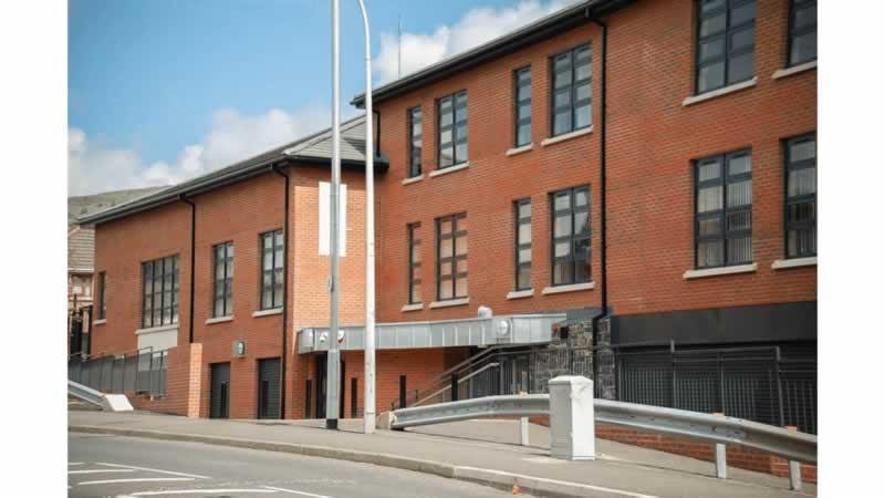 glen community centre front building