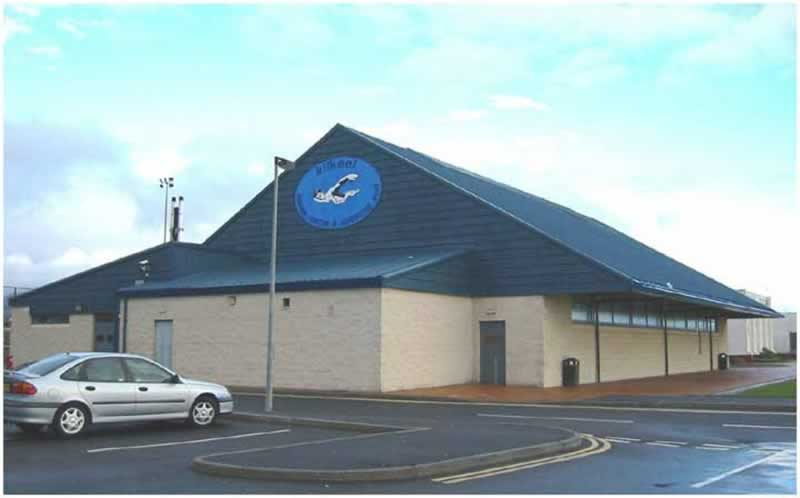 kilkeel swimming pool outside