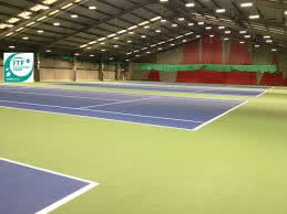 ozone leisure complex tennis court