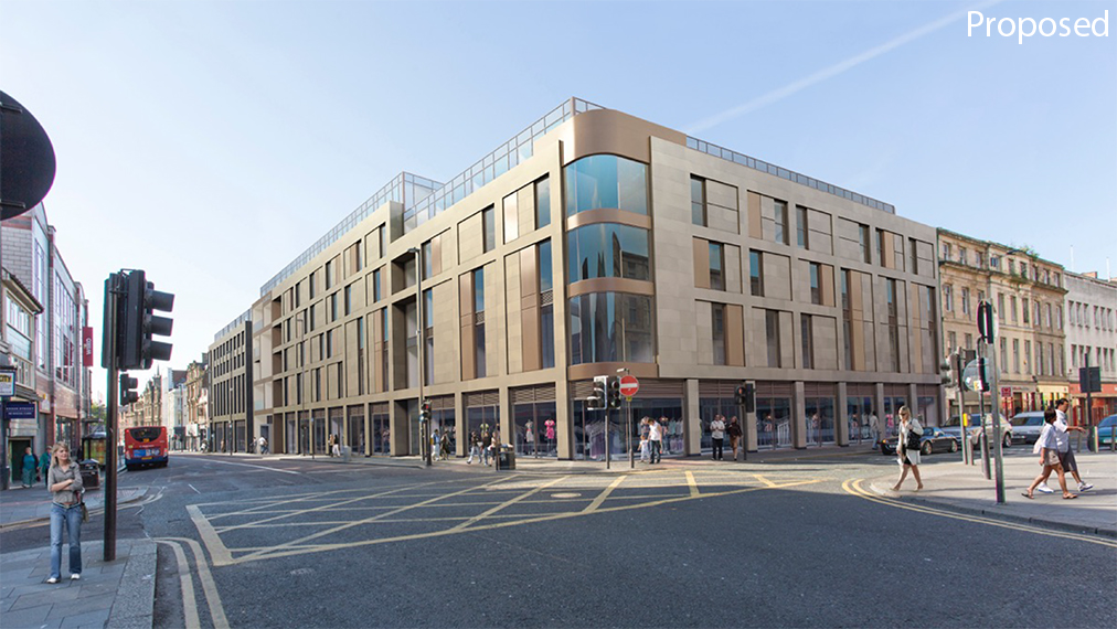 proposed newgate student accommodation