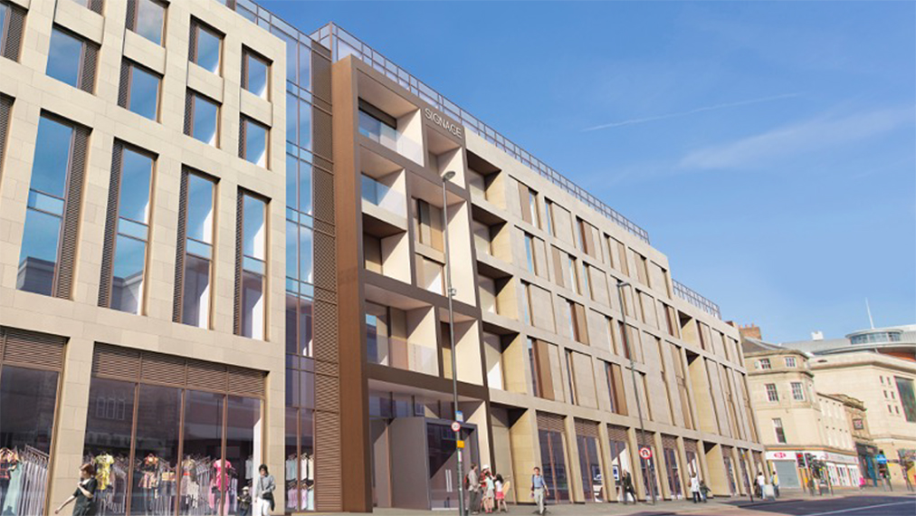 proposed newgate student accommodation side