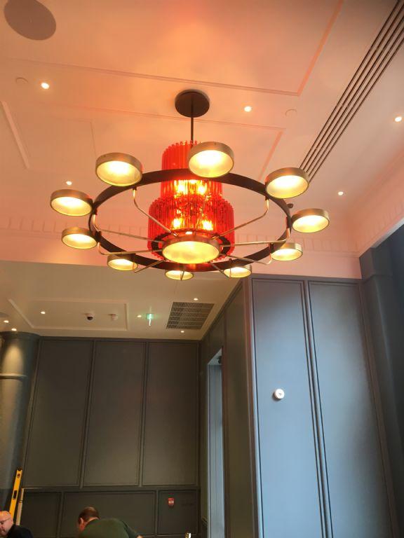 trafalgar st james - chandelier restaurant.JPG